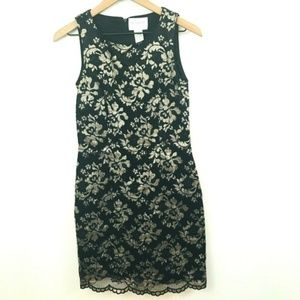 Hugo Buscati Floral Lace Sheath Dress 6